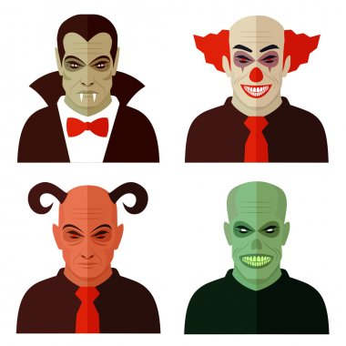 cartoon horror characters