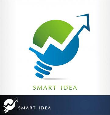 Smart finance logo vector