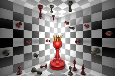 Chess Messiah (Red King)