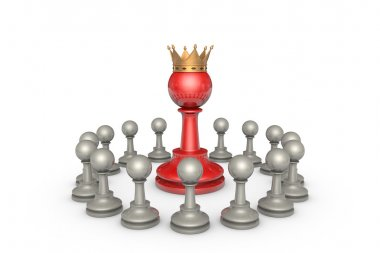 Parliamentary elections or the political elite (chess metaphor)