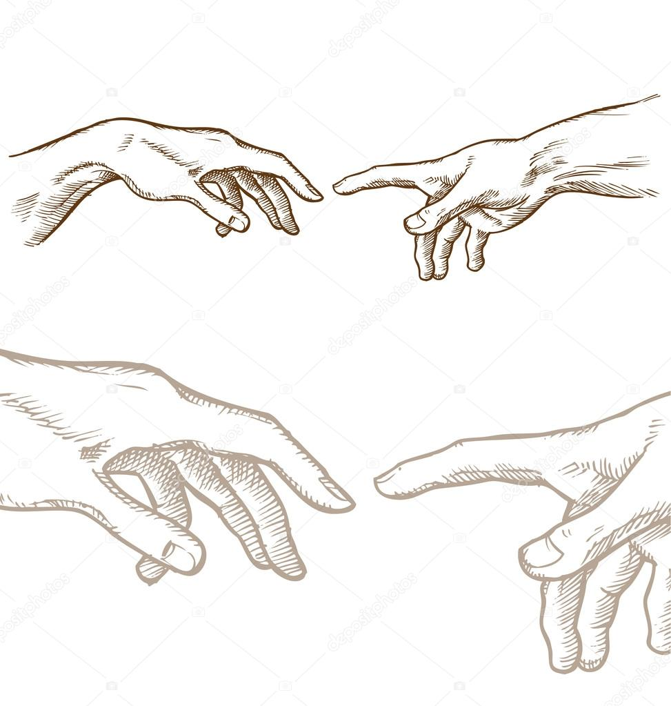 Dibujos Manos De Dios Dibujar De La Mano De La Creación