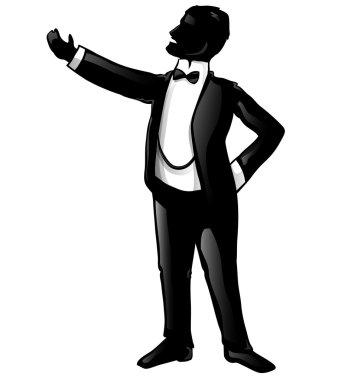 tenor opera silhouette