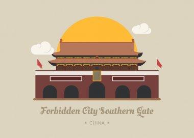 Forbidden City Southern Gate , china