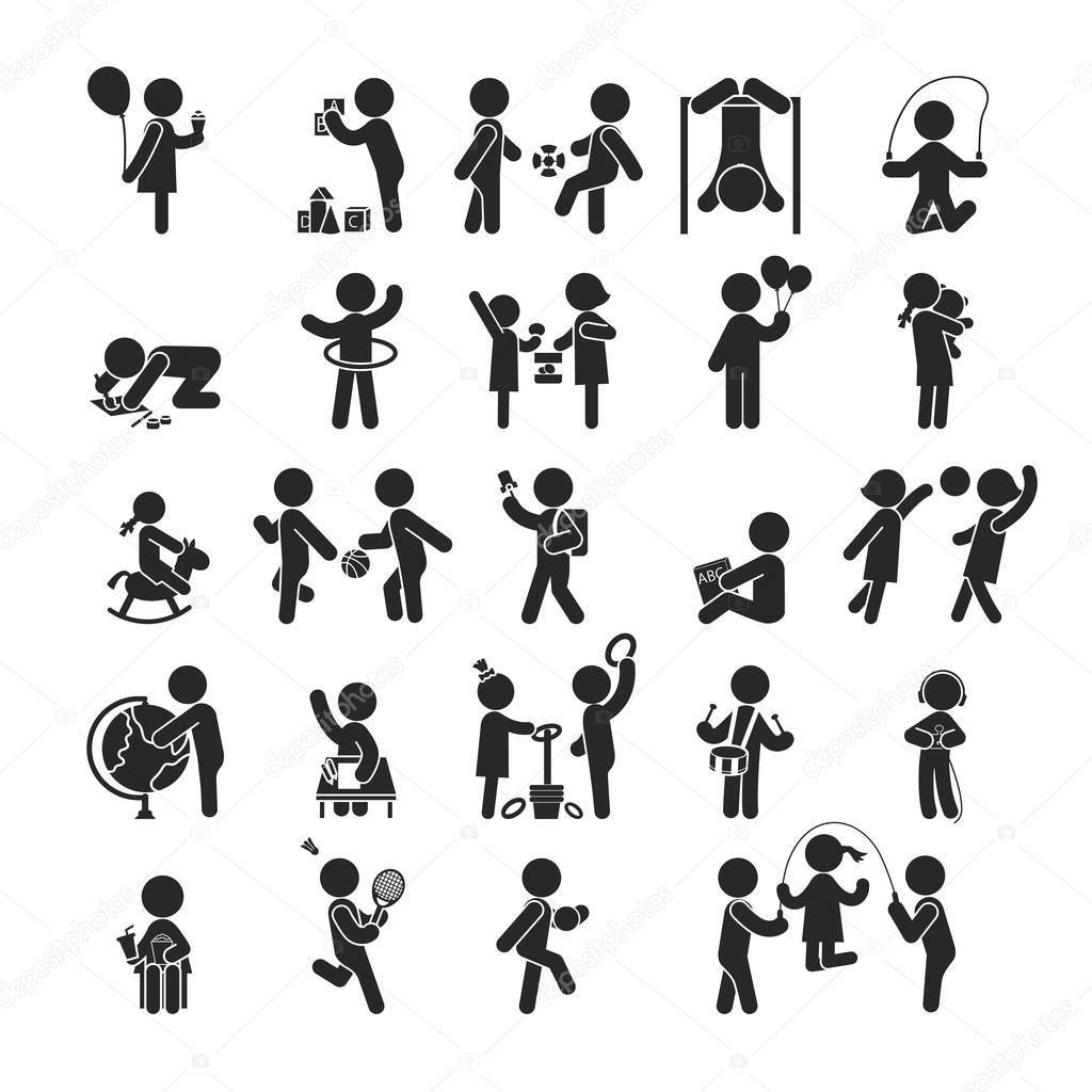 Activity Spiel Symbole