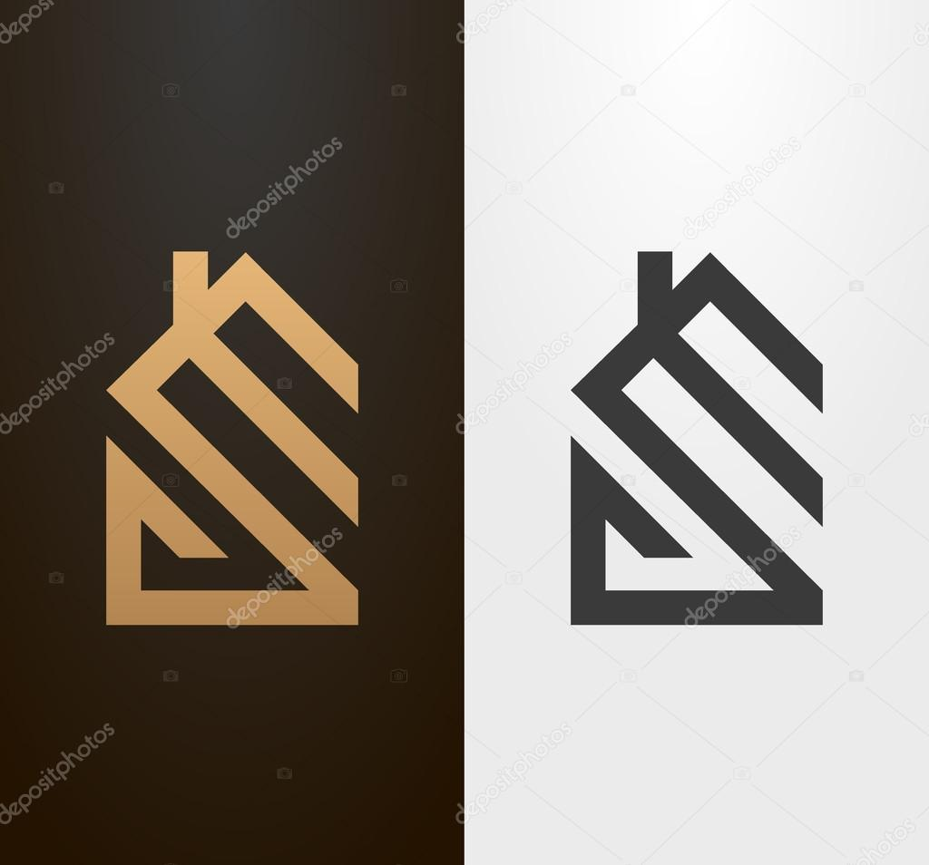 for Minimalist house logo