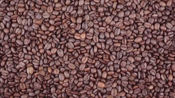 Kaffeebohnen zoomen in HD-Video