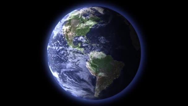 Tag Und Nacht Auf Der Erde Stockvideo Malekas 100257886