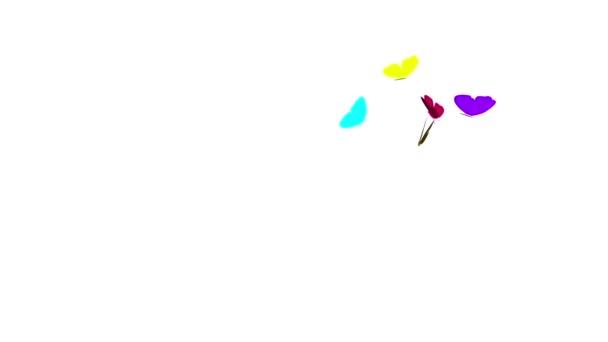 A színes pillangók csoport