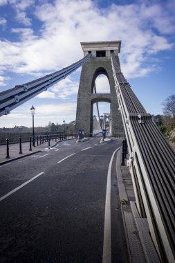 Steel Cables of Clifton Suspension Bridge, Bristol, UK