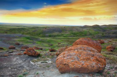 Red Rock Coulee Evening