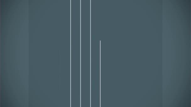 Prázdné Čtvercový popisek s linie byt animace