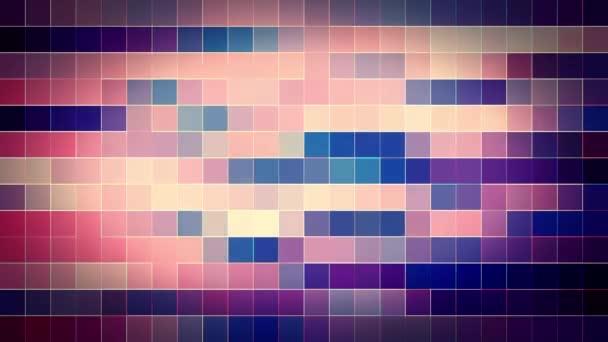 Náhodné animace abstraktní barevné mozaiky