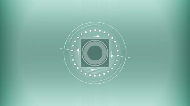 Simbolo geometrico astratto animazione