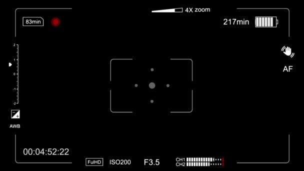 Kamera na, zkontrolujte baterie a hledáček Zobrazit animace