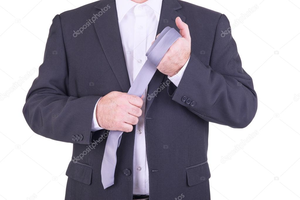 ANNA: Businessman in bondage
