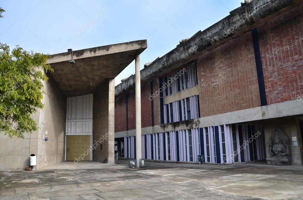Chandigarh, Indien - 4. Januar 2015: Regierung Museum und ...