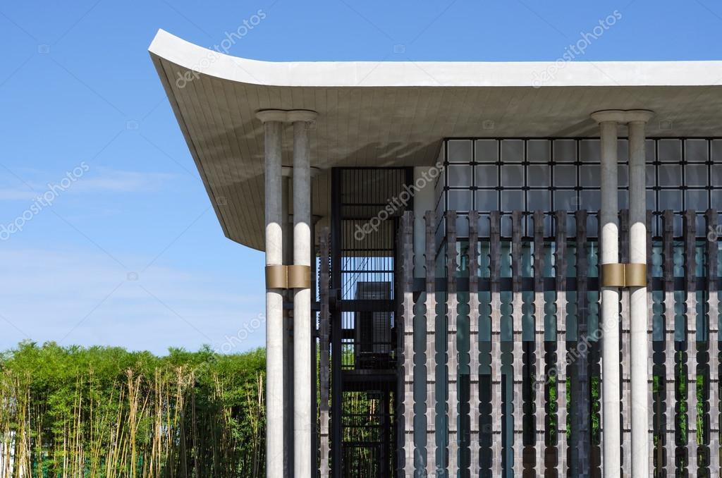 Chinese Modern Architecture Stock Photo
