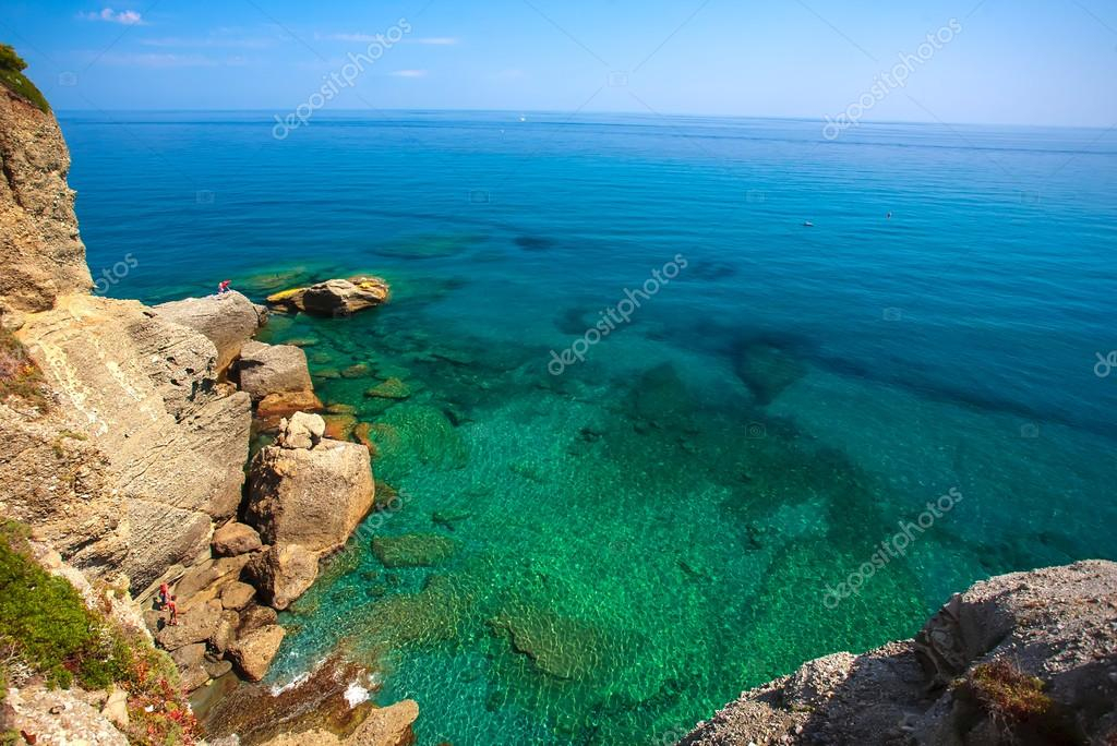 Ligurian Sea , Liguria , Italy