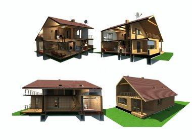 House in cu