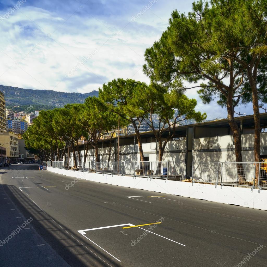 Circuito Monaco : A partire di asfalto griglia circuito grand prix di monaco gara
