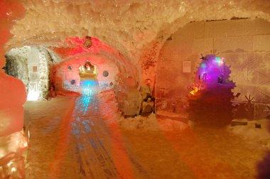 Underground permafrost museum at Yakutsk Russia