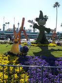 Disneys Micky Maus in den Hollywood Studios Eingang Februar 2015