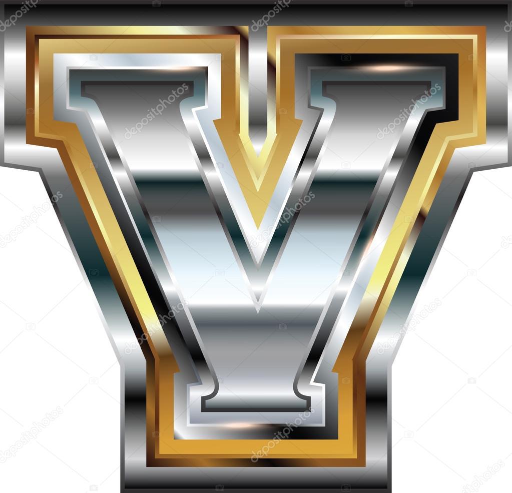 Fancy font letter v stock vector aroas 75229985 fancy font letter v stock vector thecheapjerseys Image collections