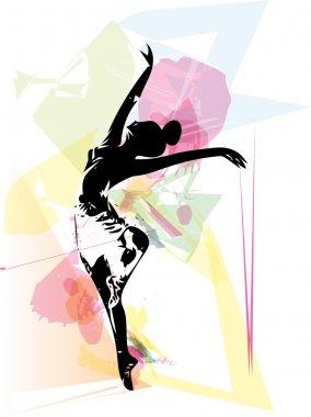 Ballet Dancer illustration