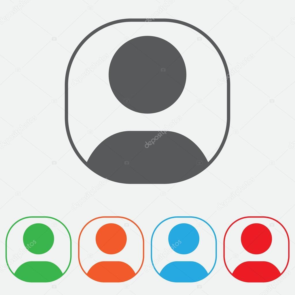 Benutzer-Login oder Symbol zu authentifizieren, vector ...