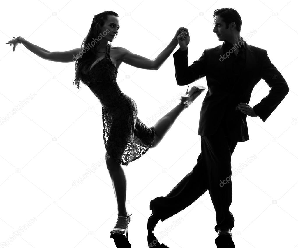 Ballo — Di Tangoing Da Donna Foto Stock Coppia Sagoma Ballerini Uomo MpSzqUV