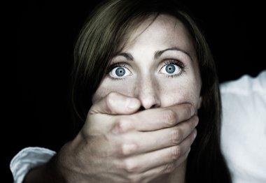 terrified female raped