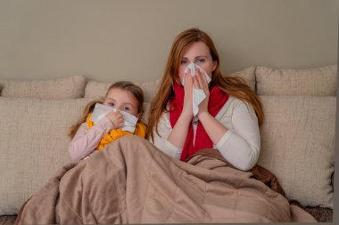 family flu season at home