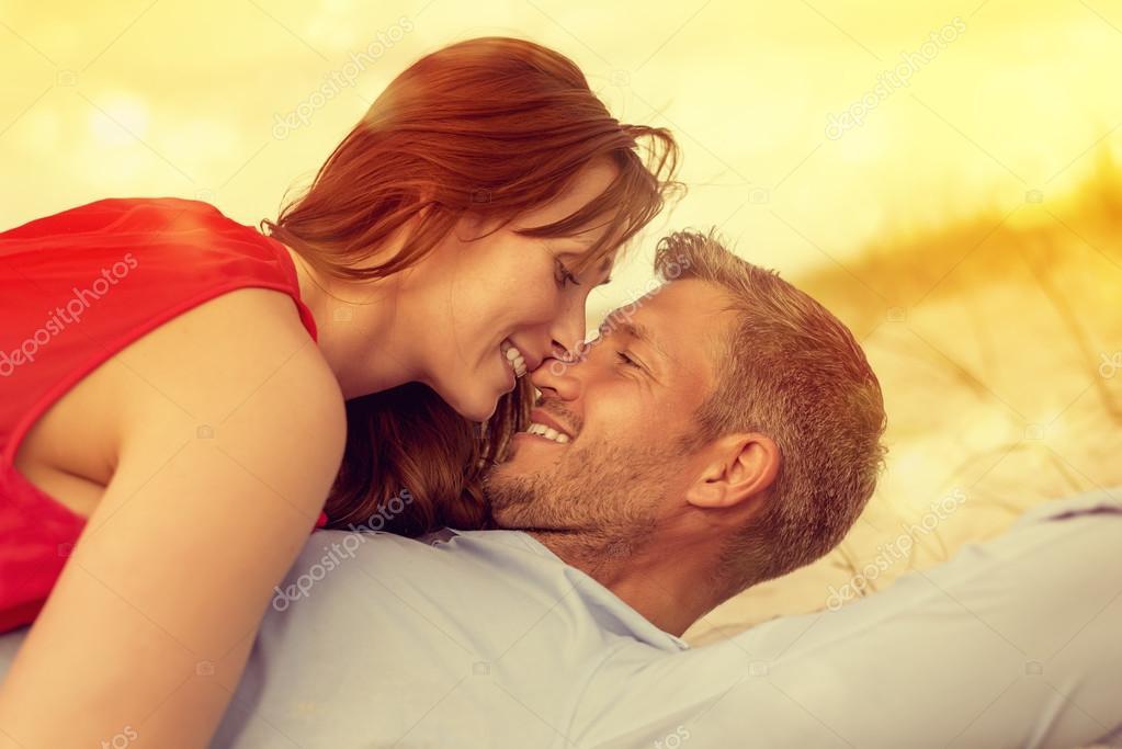 couple enjoying eachother