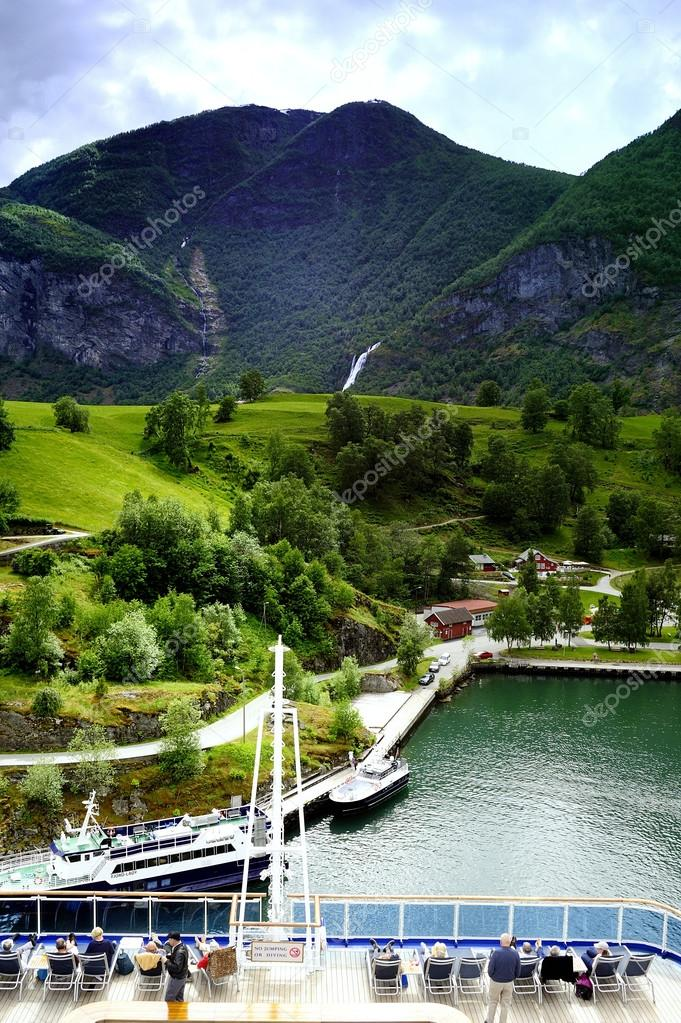 The Hills of the Flaam Fjord