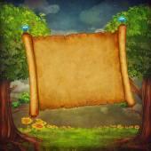 Obrázek velký banner v lese
