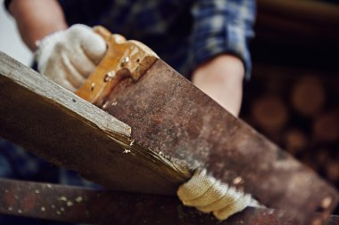 Craftsman with tools