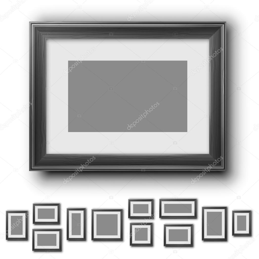 Frames Set Stock Vector Iunewind 74738115