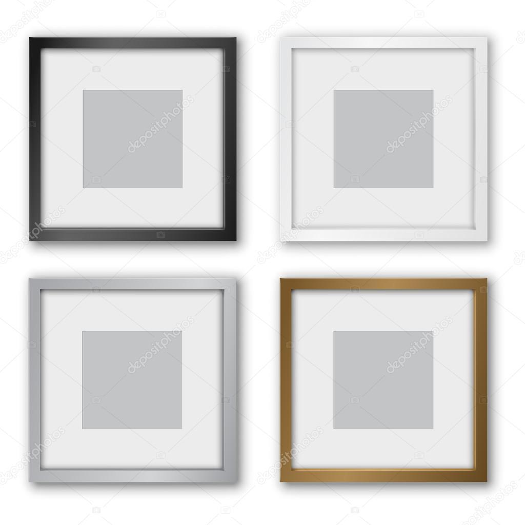 quadratischen Rahmens — Stockvektor © iunewind #77464684