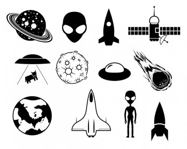 Sci-fi icons