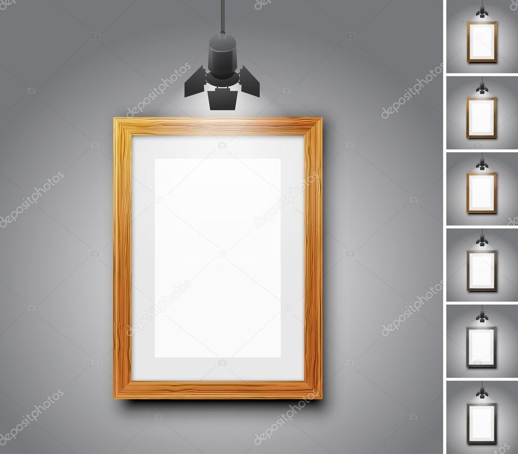 Sala Galeria Vetor De Stock Iunewind 81629684 -> Parede De Sala Diferente