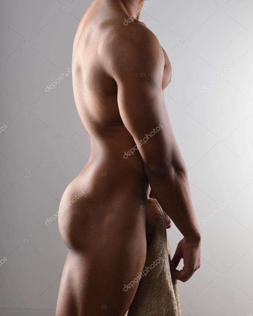 nude male profile — stock photo © msphotographic #105573334