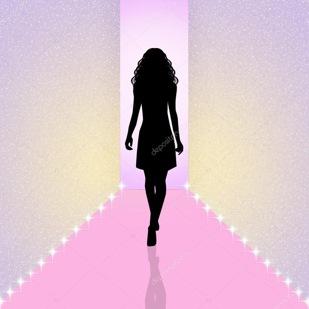 ファッションショーのイラスト \u2014 ストック写真 © adrenalina