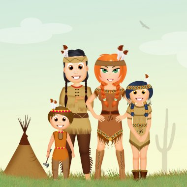 family of Indians