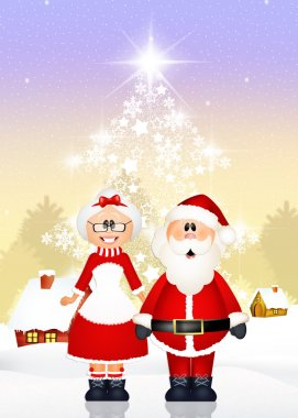 Santa Claus coupled