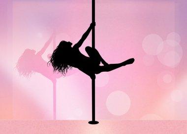 Lap dance girl