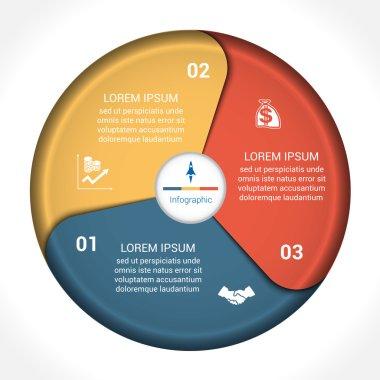 Business pie chart diagram data 3