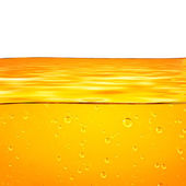 Orange yellow waves and white background for text.