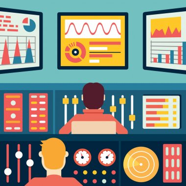 Analytics and data processing. Information and statistic