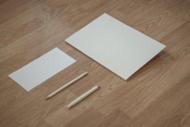 Realistic photo Stationery Mock-ups