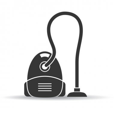 Vacuum cleaner vector icon